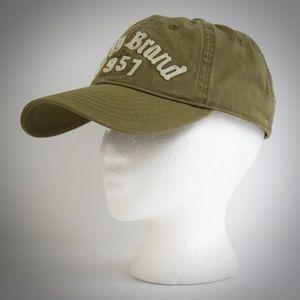 Lucky Brand Cap Baseball Style Khaki Cotton Hat
